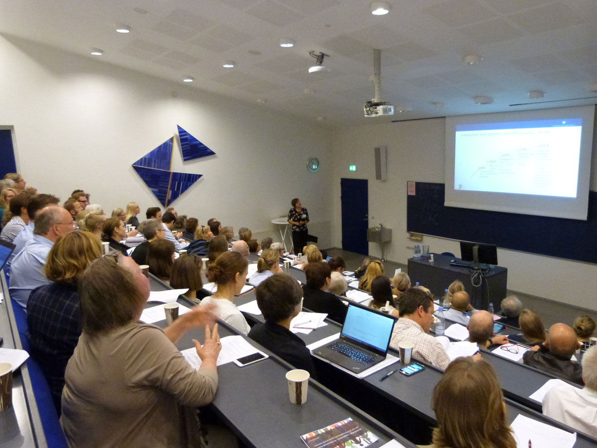 Danish patients, academics and industry learn about EUPATI and explore patient involvement at an event hosted by BioPeople at the University of Copenhagen in May 2015