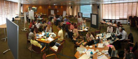Train the Trainer event in Berlin - productive fun