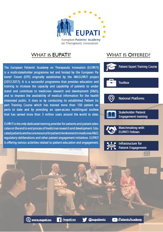 EUPATI Brochure 2020-2025
